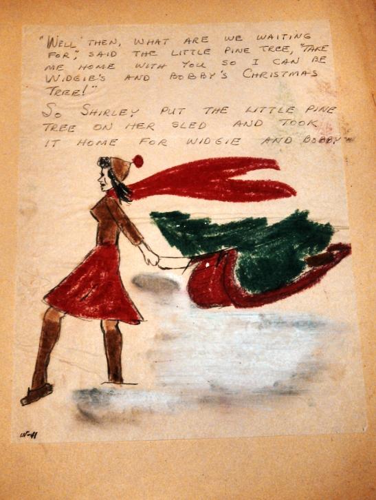 Christmas letter 1945