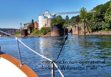 Willamette Falls locks