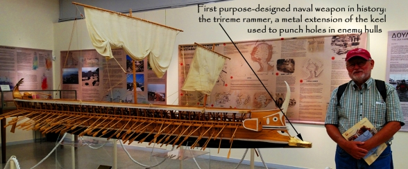 Hellenic Maritime Museum-trireme rammer