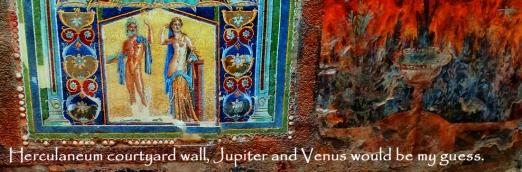 Herculaneum-courtyard wall