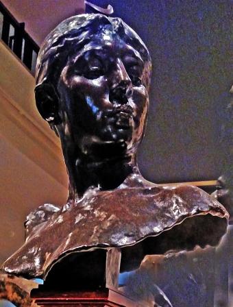 1882 Parisian bronze in Portland Art Museum