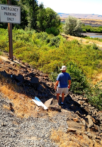 18. The Dalles 7-12-16-Scramble to the trail head