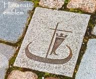 bergen-dried-cod-hanseatic-emblem