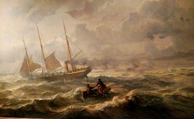 salvage-of-an-empty-life-boat-tom-livbat-1863