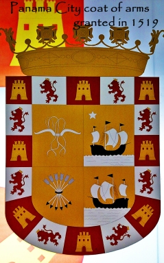 Panama City coat of arms - 1519