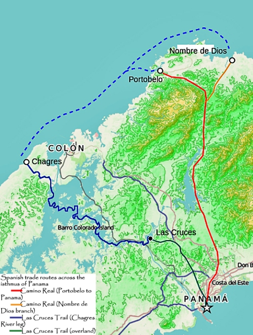 Spanish_trade_routes_across_the_isthmus_of_Panama
