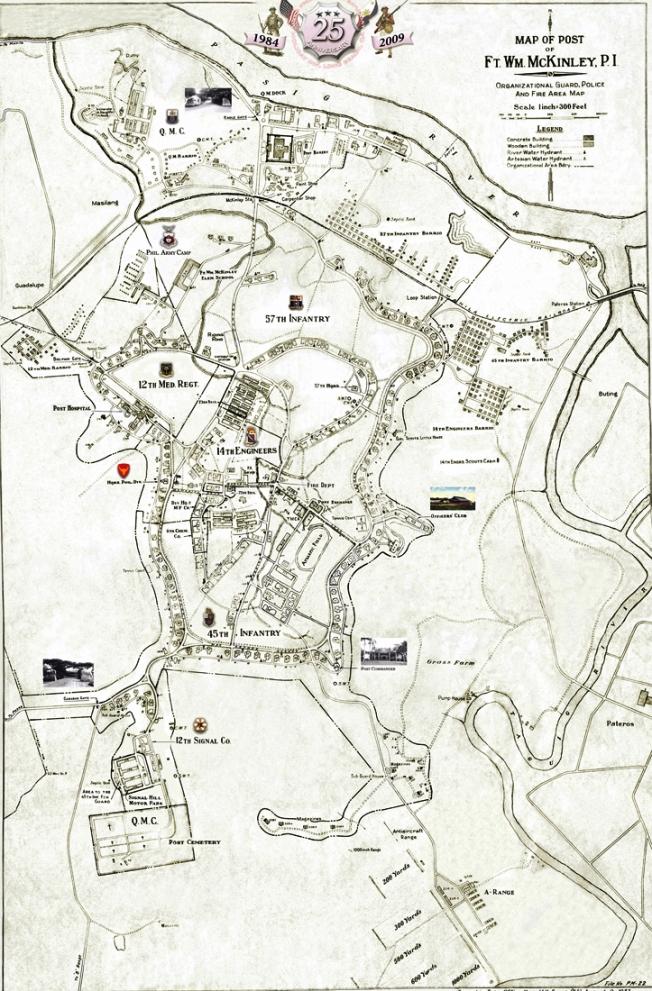 Ft. Mckinley map
