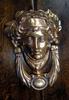 Cast Brass Lady Head Door Knocker-₤75