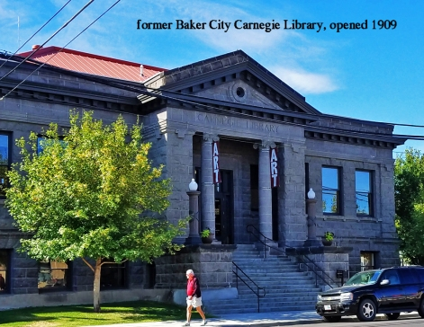 Sept 1 - Carnegie Library