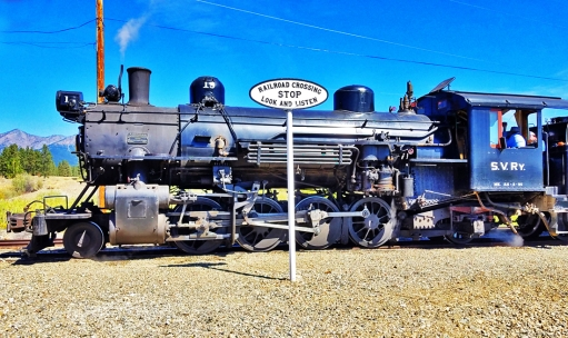 Sept 1 - Sumpter Valley narrow guage steam train 2
